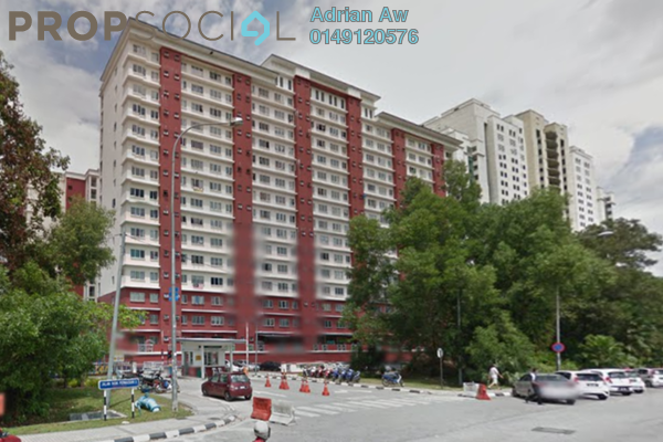 For Rent Condominium at The Lumayan, Bandar Sri Permaisuri Leasehold Fully Furnished 3R/2B 1.3k