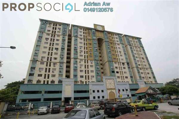 For Rent Condominium at Prisma Perdana, Cheras Freehold Unfurnished 3R/2B 1k