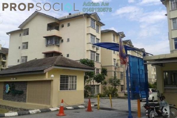 For Rent Condominium at Sri Kayangan Apartment, Ukay Leasehold Fully Furnished 3R/2B 1.1k