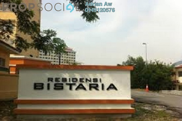 For Rent Condominium at Residensi Bistaria, Ukay Freehold Semi Furnished 3R/2B 1.1k