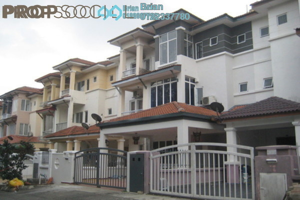 For Sale Terrace at Taman Ikhlas, Bandar Sungai Long Freehold Semi Furnished 5R/4B 640k