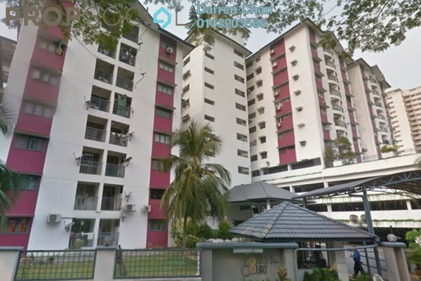 For Sale Condominium at Fortuna Court, Old Klang Road Freehold Semi Furnished 3R/2B 460k