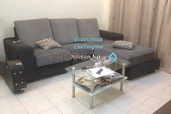 For Rent Condominium at Plaza Medan Putra, Bandar Menjalara Freehold Fully Furnished 3R/2B 1.2k