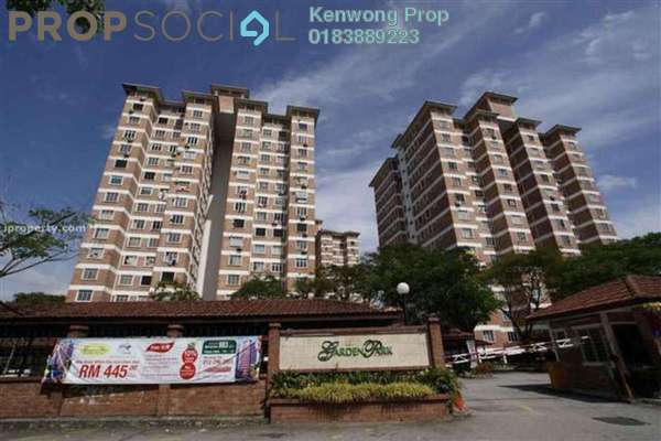 For Rent Condominium at Garden Park, Bandar Sungai Long Leasehold Fully Furnished 3R/2B 1.3k