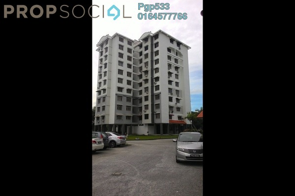 For Sale Apartment at Mayang Apartment, Bayan Baru Leasehold Semi Furnished 3R/2B 350k