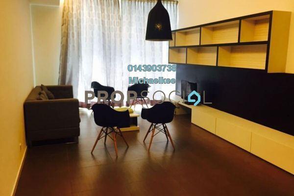 For Rent Condominium at Garden Plaza @ Garden Residence, Cyberjaya Freehold Fully Furnished 3R/2B 2.1k