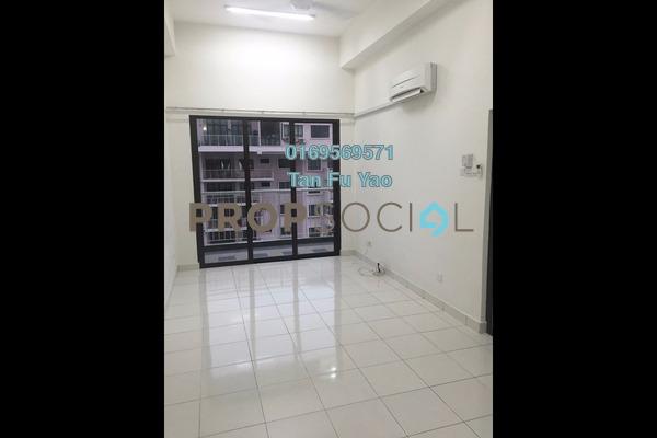 For Rent Condominium at Indah Alam, Shah Alam Freehold Semi Furnished 3R/2B 1.4k