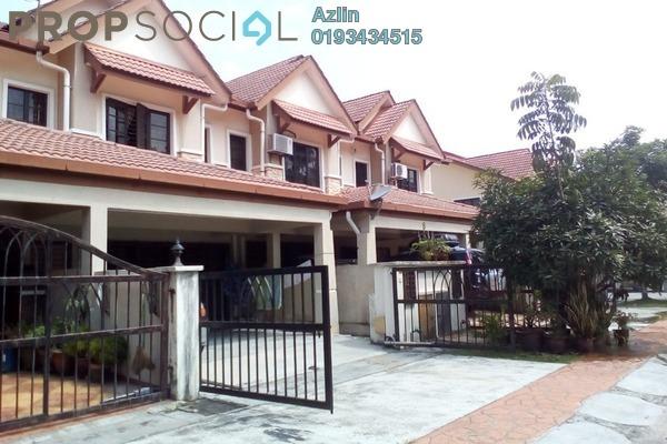 For Sale Terrace at Bandar Nusa Rhu, Shah Alam Leasehold Semi Furnished 4R/3B 690k