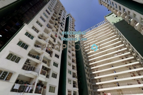 For Rent Condominium at Kepong Central Condominium, Kepong Leasehold Unfurnished 3R/2B 1k