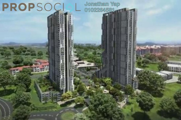 For Rent Condominium at Verdi Eco-dominiums, Cyberjaya Freehold Fully Furnished 2R/2B 2.85k