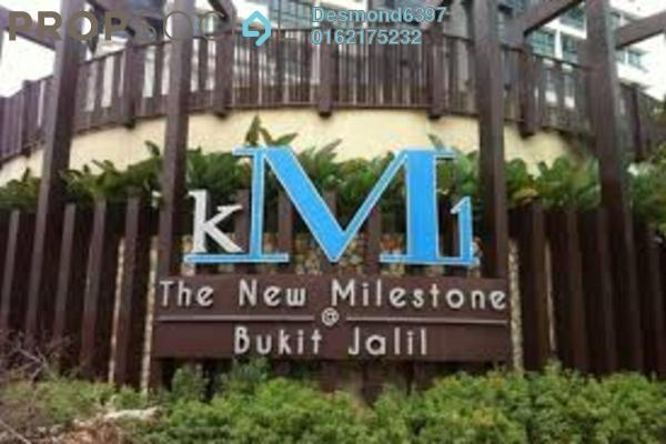 For Rent Condominium at KM1, Bukit Jalil Freehold Fully Furnished 3R/3B 2.8k