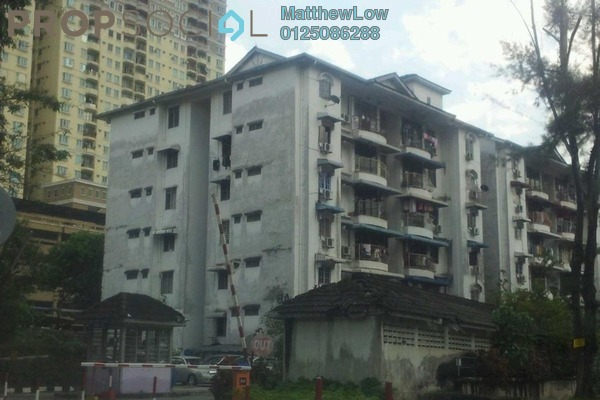 For Sale Apartment at Tanjung Court, Farlim Leasehold Semi Furnished 3R/2B 390k