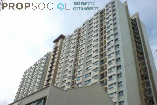 For Sale Apartment at Symphony Park, Jelutong Freehold Fully Furnished 3R/2B 500k