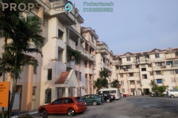 For Sale Apartment at Taman Langat Murni Apartment, Banting Freehold Unfurnished 3R/2B 150k