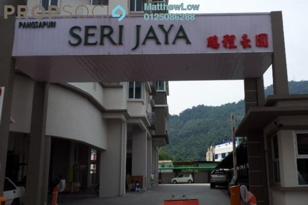 For Sale Apartment at Taman Seri Jaya, Bukit Mertajam Freehold Semi Furnished 4R/2B 415k