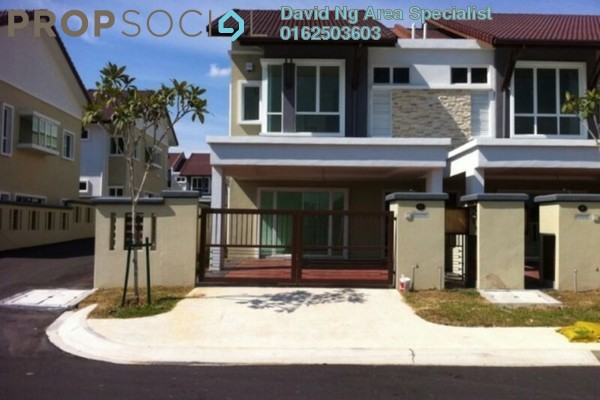 For Sale Terrace at Ayu Impian, Setia Alam Freehold Unfurnished 4R/3B 710k