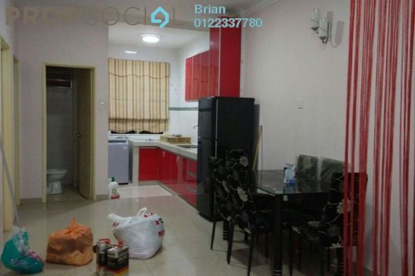 For Sale Townhouse at Bayu Parkville, Balakong Leasehold Semi Furnished 3R/2B 320k