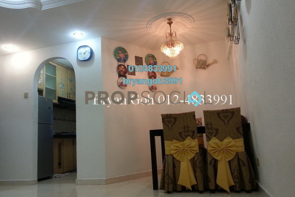 For Rent Apartment at Mutiara Heights, Jelutong Leasehold Semi Furnished 3R/1B 750translationmissing:en.pricing.unit