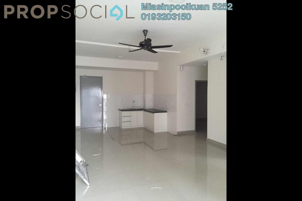 For Rent Condominium at The Wharf, Puchong Leasehold Semi Furnished 2R/2B 1k