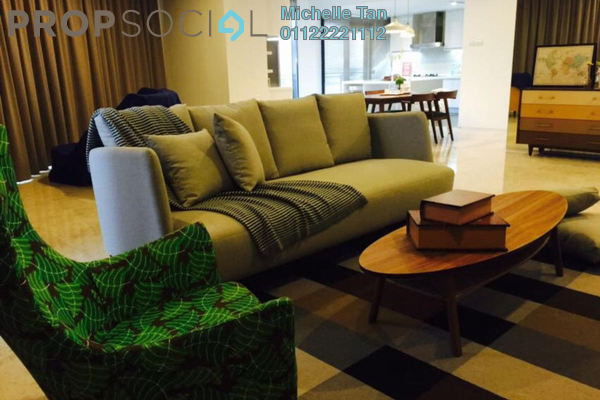 For Rent Condominium at K Residence, KLCC Freehold Fully Furnished 3R/5B 13k