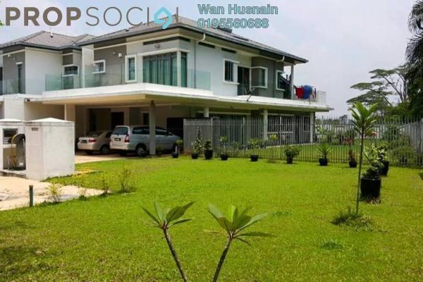 For Sale Semi-Detached at LakeHill Villas, Bandar Baru Bangi Freehold Fully Furnished 5R/5B 2.6m