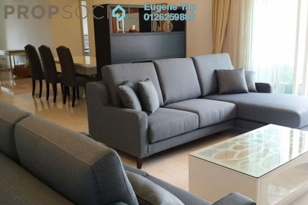 For Rent Condominium at Tiffani Kiara, Mont Kiara Freehold Fully Furnished 4R/5B 6.5k