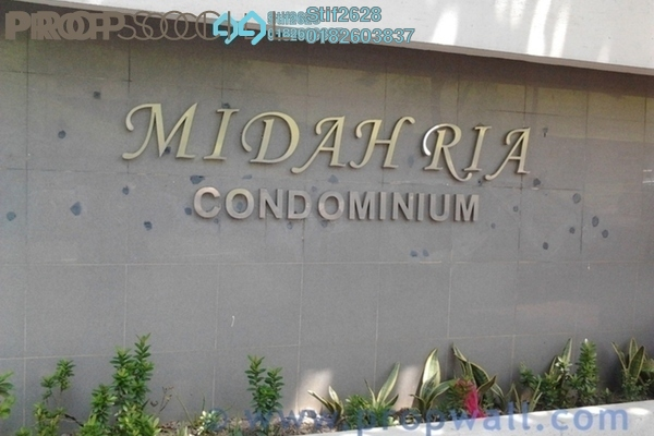 For Sale Condominium at Midah Ria, Cheras Freehold Unfurnished 3R/2B 420k
