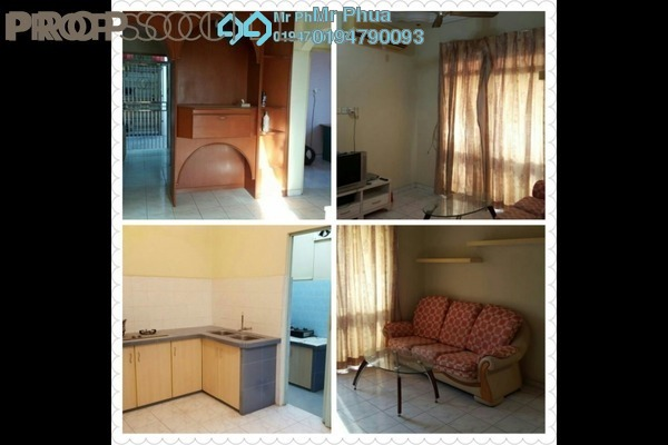 For Sale Condominium at Bagan Sena Apartment, Butterworth Freehold Unfurnished 3R/2B 228k
