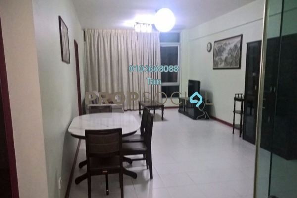 For Sale Condominium at The Saffron, Sentul Freehold Fully Furnished 3R/2B 700k