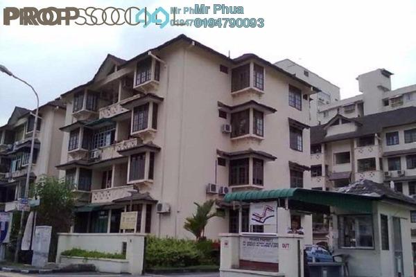 For Sale Condominium at Melati Apartment, Sungai Nibong Freehold Semi Furnished 3R/2B 450k