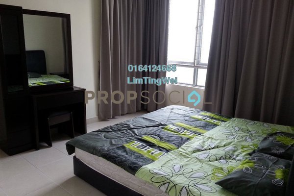 For Rent Condominium at Riana Green, Tropicana Leasehold Fully Furnished 1R/1B 1.48k