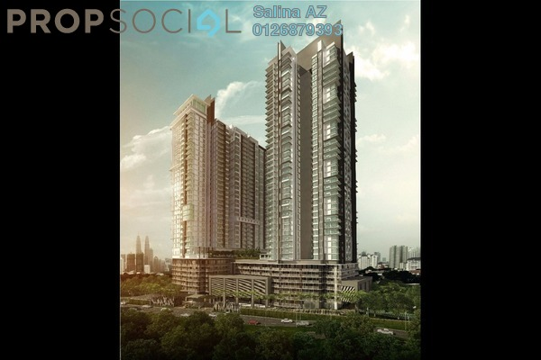 For Sale Condominium at The Reach @ Titiwangsa, Setapak Freehold Unfurnished 4R/4B 1.94m
