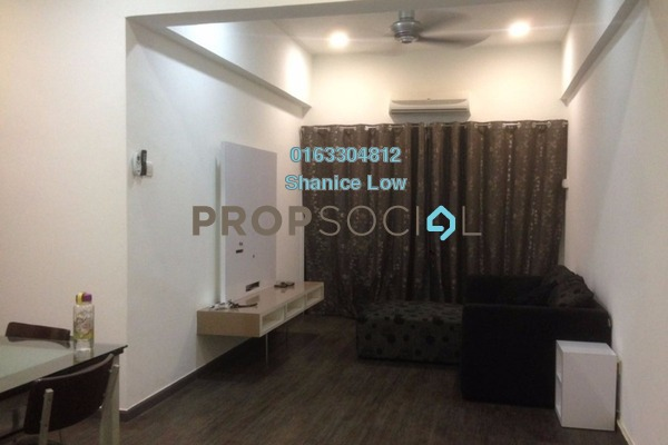 For Rent Apartment at Prima Saujana, Kepong Leasehold Semi Furnished 3R/2B 1.5k