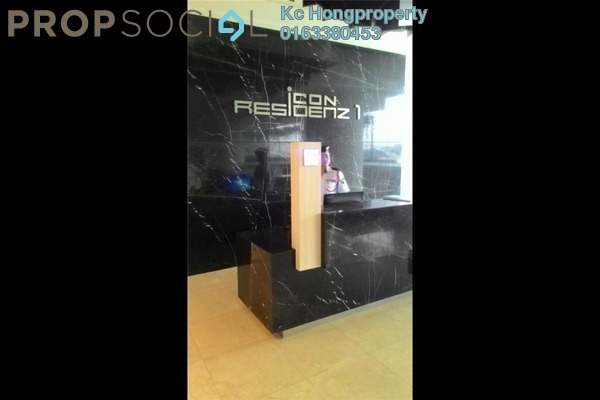 For Rent Serviced Residence at Icon Residenz, Petaling Jaya Leasehold Semi Furnished 0R/1B 1.5k