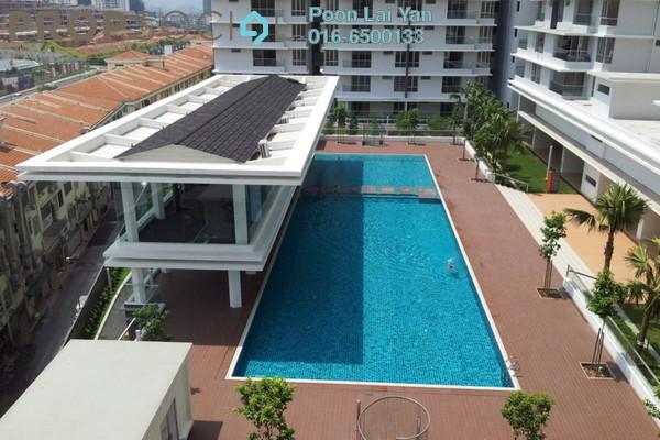 For Sale Condominium at Platinum Hill PV2, Setapak Freehold Semi Furnished 3R/2B 679k