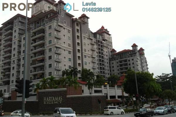 For Rent Condominium at Hartamas Regency 1, Dutamas Freehold Fully Furnished 3R/2B 3.2k