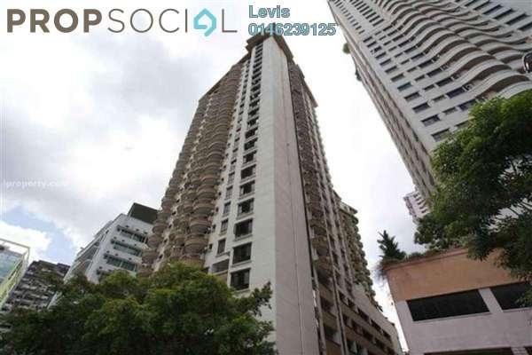 For Rent Condominium at Mutiara Villa, Bukit Ceylon Freehold Fully Furnished 2R/2B 2.6k