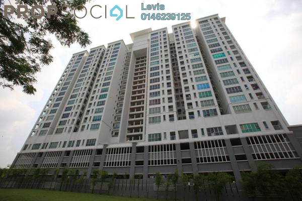 For Rent Condominium at Alam Puri, Jalan Ipoh Freehold Semi Furnished 3R/2B 1.7k