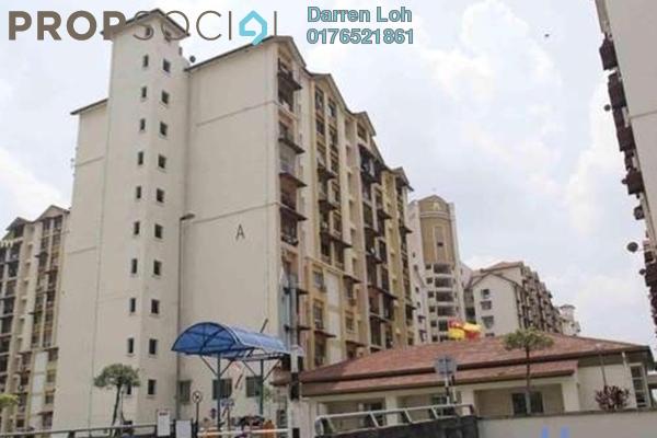 For Rent Apartment at Vista Lavender, Bandar Kinrara Leasehold Semi Furnished 3R/2B 1k