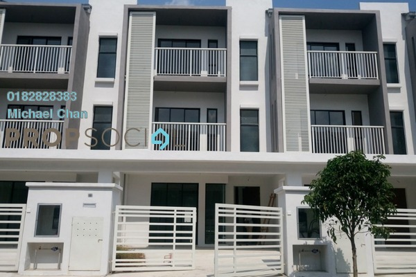 For Sale Terrace at Abadi Heights, Puchong Leasehold Unfurnished 5R/5B 860k