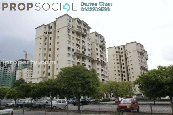 For Sale Apartment at Pandan Mewah Heights, Pandan Indah Leasehold Fully Furnished 3R/2B 370k