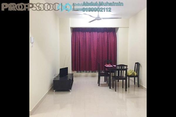 For Sale Apartment at Seri Atria Apartment, Subang Leasehold Semi Furnished 3R/2B 290k