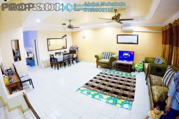 For Sale Terrace at Sunway Kayangan, Shah Alam Leasehold Semi Furnished 4R/3B 680k