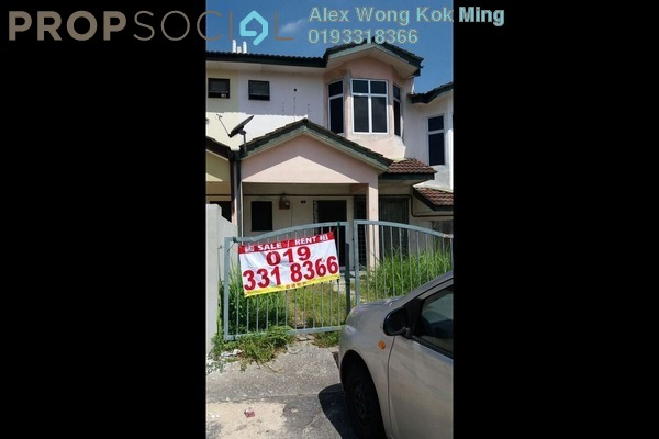 For Rent Terrace at Saujana Puchong, Puchong Leasehold Unfurnished 4R/3B 1.1k