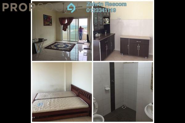 For Rent Condominium at Unipark Condominium, Kajang Freehold Semi Furnished 3R/2B 1.6k