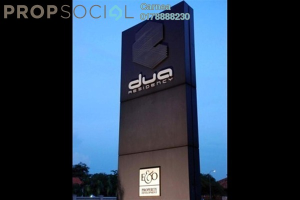 For Rent Condominium at Dua Residency, KLCC Freehold Semi Furnished 3R/4B 6.5k