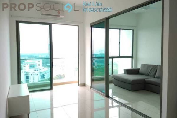 For Rent Condominium at CyberSquare, Cyberjaya Freehold Semi Furnished 2R/2B 1.65k