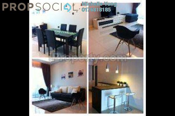 For Sale Condominium at The Park Residences, Bangsar South Leasehold Fully Furnished 3R/2B 1.25m