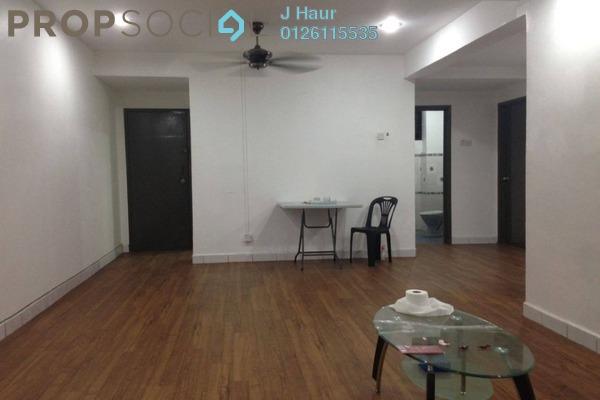 For Rent Apartment at Kayangan Apartment, Bandar Sunway Leasehold Semi Furnished 3R/2B 1.2k