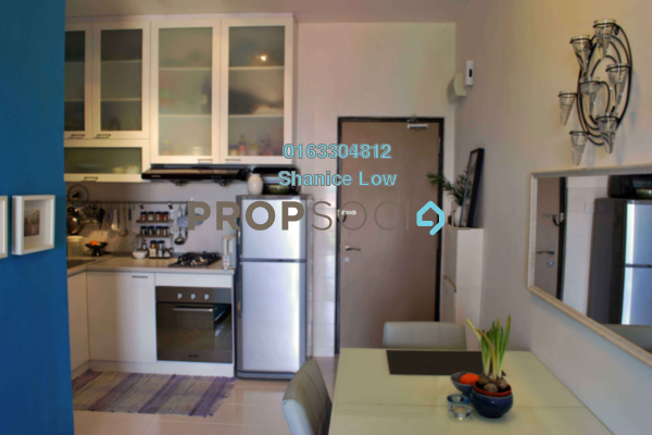 For Rent Condominium at Ritze Perdana 1, Damansara Perdana Leasehold Fully Furnished 0R/1B 1.1k